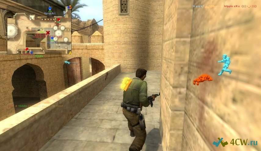 WallHack для Counter Strike 1 6 (БЕЗ ВИРУСОВ) - YouTube